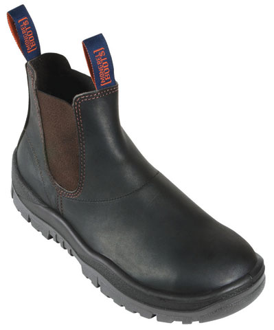 Boot - Safety Mongrel Kip Elastic Sided DD TPU Sole Claret - 14