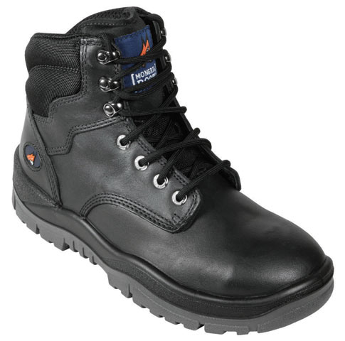 Boot - Safety Mongrel 260020 Ankle Lace-Up Padded DD TPU Sole Black - 14