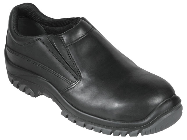 Shoe - Safety Mongrel 310585 Slip-On DDTPU Sole Black - 13