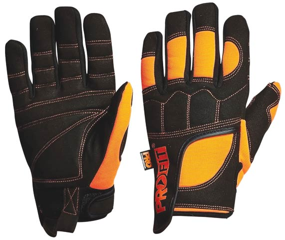 Glove - Leather Synthetic ProVibe Anti-Vibration - 2XL