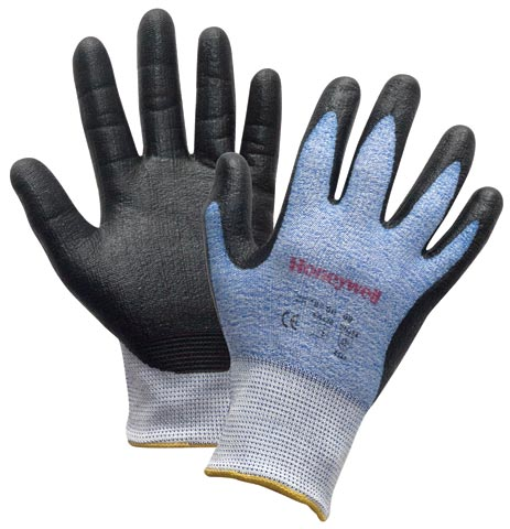 Glove - Nitrile Palm Dip Honeywell Perfect Cutting Spectra NBR Cut Resistant CR 3 - 11