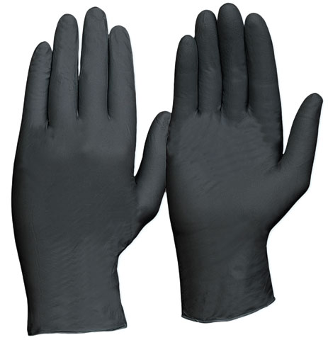 Glove - Nitrile Disposable ProChoice Extra Heavy Duty Powder Free Black - 2XL