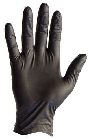 Glove - Nitrile Disposable Pro-Val Nitrile Blax PF Powder Free Black - XL