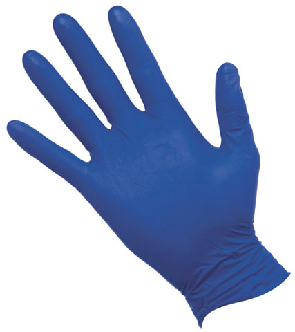 Glove - Nitrile Disposable Pro-Val NiteSafe Examination Powder Free Cobalt Blue - XL