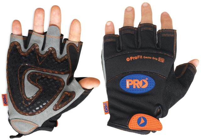 Glove - Leather Synthetic ProFit Fingerless - 2XL