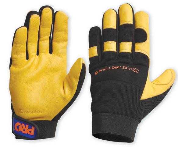 Glove - Leather Synthetic ProFit Deer Skin - 2XL