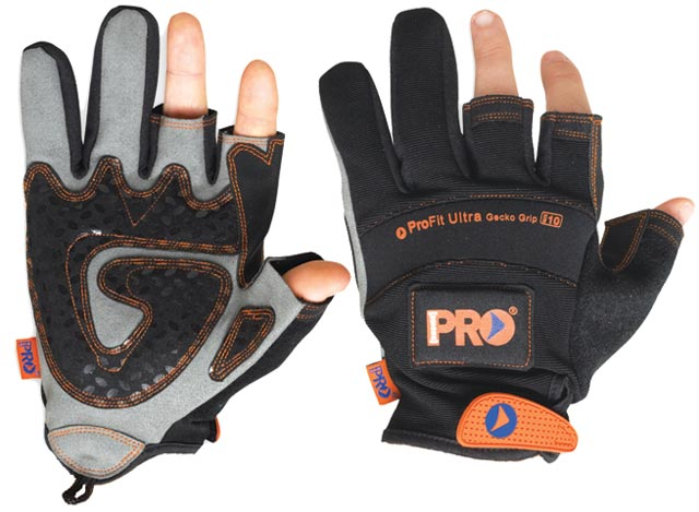 Glove - Leather Synthetic ProFit MagnaTech 2 Fingers & Magnetic Back - 2XL