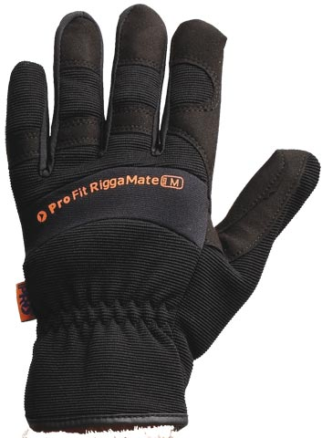Glove - Leather Synthetic ProFit Riggamate PFR Black - 2XL