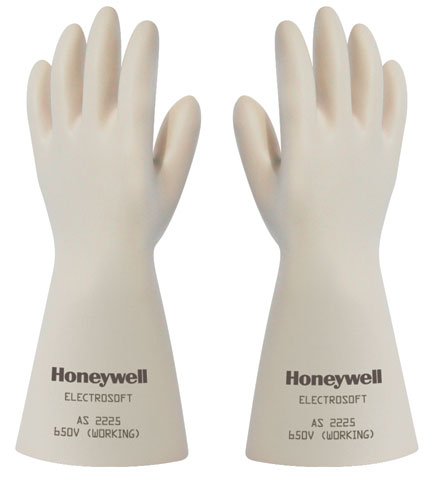Glove - Latex Rubber Electricians Honeywell Electrosoft Class 650V 360mm Cut Edge - 11