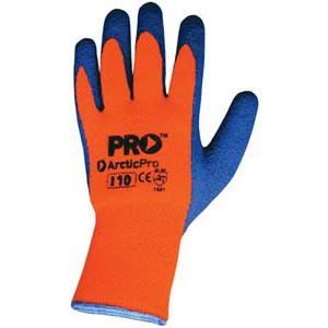 Glove - Rubber Latex ProSense ArcticPro Coated Palm Acrylic Wool Liner - 11