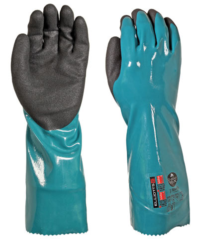 Glove - Nitrile Triple Layer Elliott ChemVEX 7000 Nylon Lined 35.6cm - 11