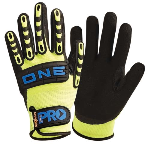 Glove - Nitrile Rubber ProSense ONE Foam Coat Nylon Liner Rubber Back - 11