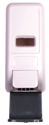 Dispenser - Ultra Manual suits 1L Cartridge for Ultra Clean Hands/Germ Buster - White