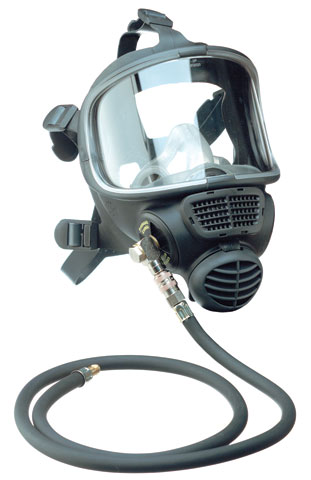 Respirator - Full Face Airline 3M Scott Promask Combi 5012674 - S Black c/w Hose