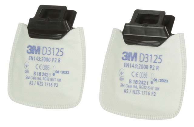 Filter - P2 3M Secure Click D3125 Particulate