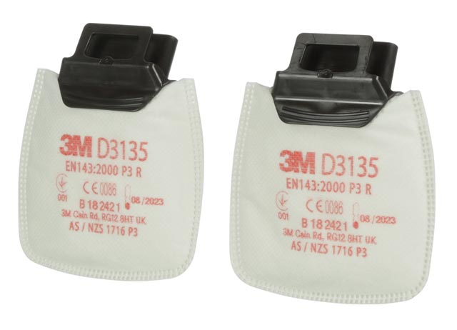 Filter - P3 3M Secure Click D3135 Particulate