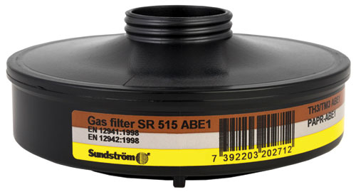 Filter - Sundstrom SR515 Gas Filter ABE1 Threaded for SR 500 Series PAPR Units