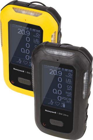 Gas Monitor - BW Ultra 5 Gas Detector %O2/LEL/H2S/CO/SO2