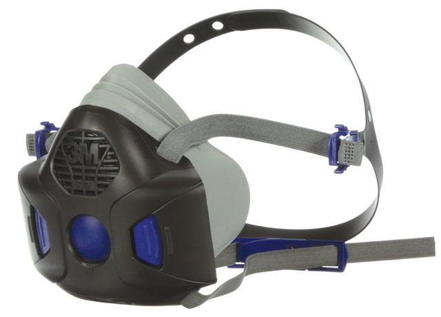 Respirator - Half Face 3M 800SD Secure Click 801SD Series Silicone Twin Filter - S