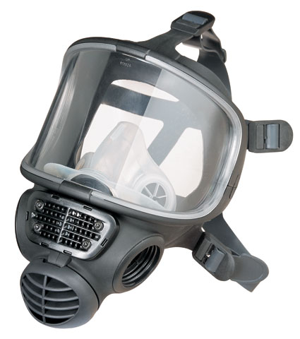Respirator - Full Face 3M Promask FM3 Halo Butyl Face Piece c/w PC Visor suits 3M Proflow SC 160 PAPR - S