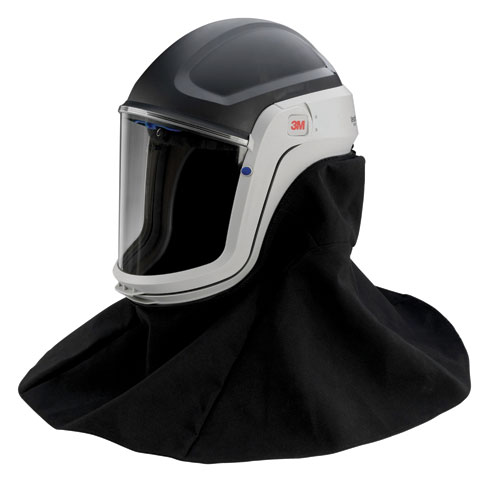 Respirator Head Top - Faceshield/Helmet/Neck 3M Versaflo M-406 for use with TR-300/TR-600/Jupiter PAPR Turbo Units