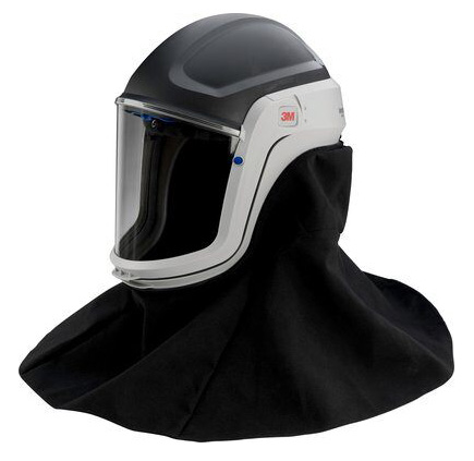 Respirator Head Top - Helmet/Neck 3M Versaflo M-407 FR Faceseal use with TR-300/TR-600/Jupiter PAPR Turbo Units