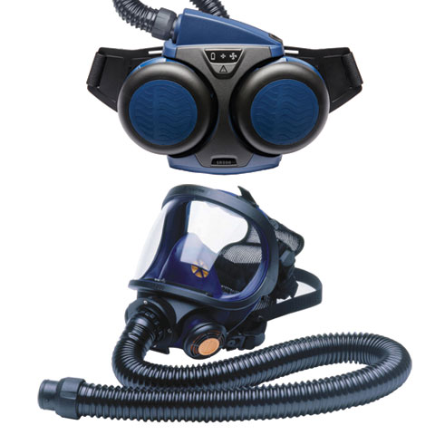 Respirator Kit - Full Face PAPR Sundstrom 190-05004 c/w SR500 fan/SR200 Mask/P3 Filters/Standard Battery/SR550 Hose