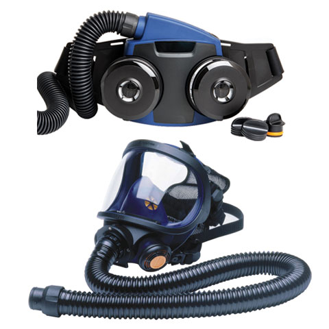 Respirator Kit - Full Face PAPR Sundstrom 190-05667 c/w SR700 Fan/SR200 Mask/P3 Filters/Standard Battery/SR550 Hose