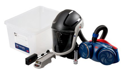 Respirator Kit - Faceshield/Helmet PAPR 3M Versaflo M-306 c/w Jupiter Turbo/Hose/Battery/Charger (filters not included)