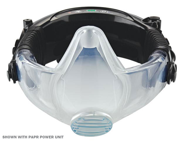 Respirator - Half Face Silicone CleanSpace2 PAPR Facepiece - S