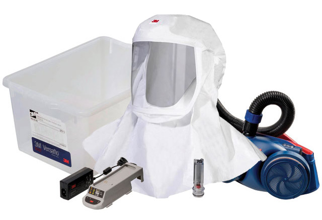 Respirator Kit - Headcover/Hood PAPR 3M Versaflo S-433 c/w Jupiter Turbo/Hose/Battery/Charger