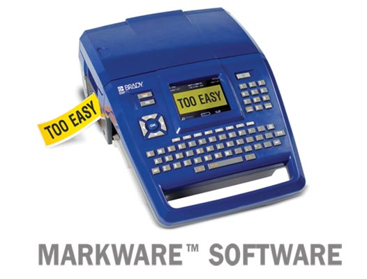 Label Printer Kit - Brady BMP71 c/w Markware Software