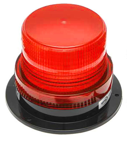 Beacon - LED Small ACOT500 Hardwire 12-24V DC - Red
