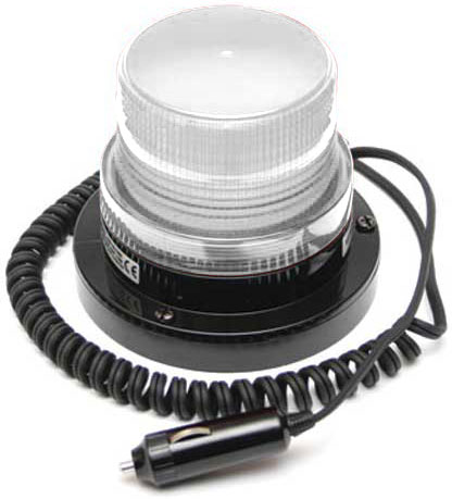 Beacon - LED Small ACOT500 Magnetic Base 12-24V DC - Clear
