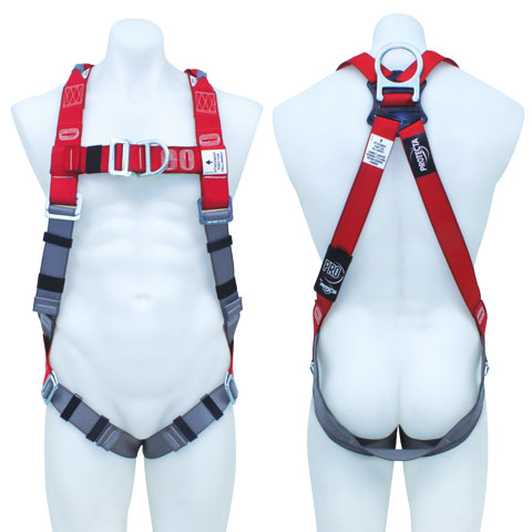 Harness - Riggers 3M Protecta P100 AB123XL c/w Front/Rear D Rings & Retrieval Points - XL