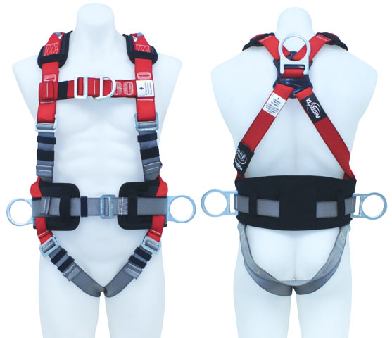 Harness - All Purpose 3M Protecta P100 AB124XL c/w Rear/Front/Side D Rings & Retrieval Points/Waist Belt & Padded Back Pad - XL