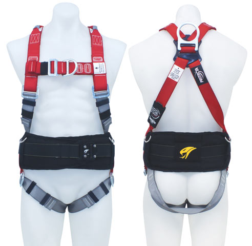 Harness - Scaffolders 3M Protecta P100 AB125XL c/w Front/Rear D Rings & Retrieval Points Incl. Padded Tool Belt - XL