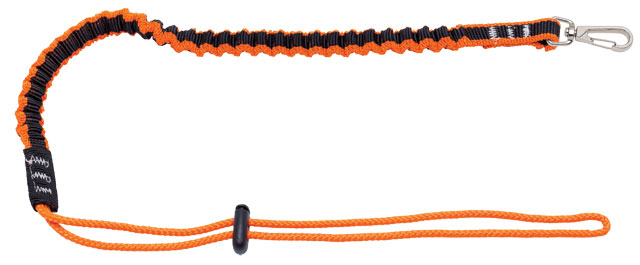Tool Lanyard - Coil Tether LinQ with Swivel Snap Hook to Loop Tail