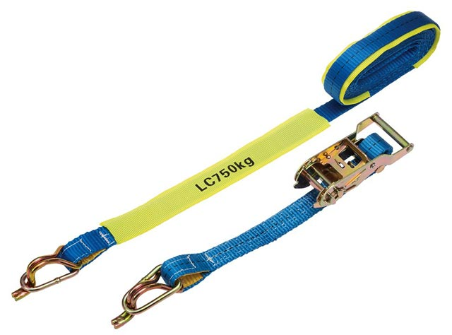 Tie Down - Ratchet LinQ RTDJ255 25mm x 5M 0.75T Captive J Hook