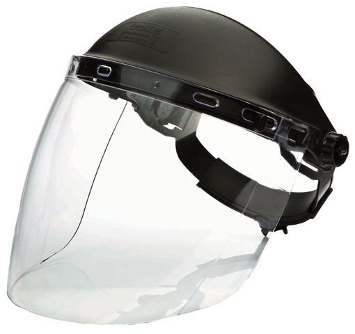 Faceshield - Clear Bolle Sphere 1652501 c/w Browguard & Visor