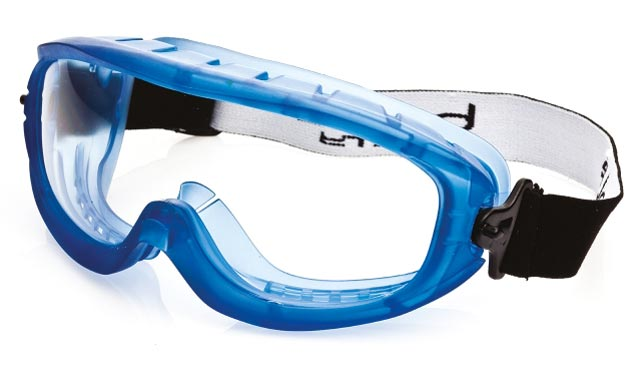 Goggle - Clear Bolle Atom Splash/MI Platinum AS/AF Lens Top Vents Closed