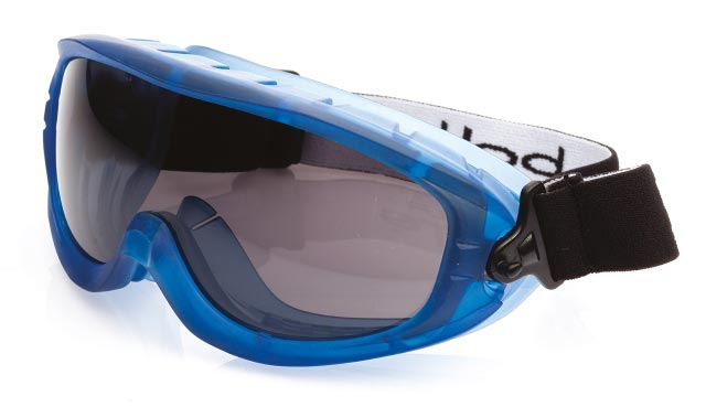 Goggle - Smoke Bolle Atom Splash/MI Platinum AS/AF Lens Indirect Vents Top/Bottom