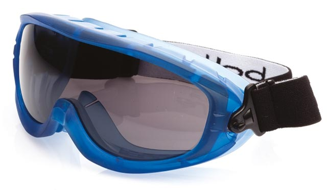 Goggle - Smoke Bolle Atom Splash/MI Platinum AS/AF Lens Top Vents Closed
