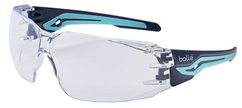 Spectacle - Clear Bolle Silex Black/Blue AS/AF Lens