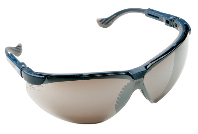Spectacle - Silver Honeywell XC Blue Frame Mirror AS Lens
