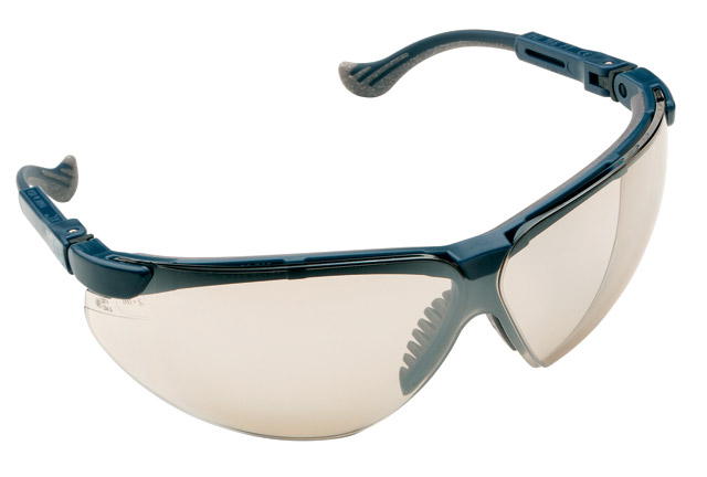 Spectacle - Light Silver Honeywell XC Blue Frame Mirror AS Lens