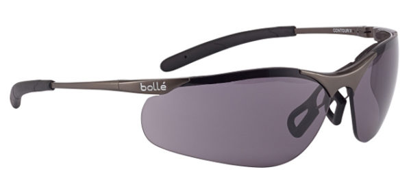 Spectacle - Smoke Bolle Contour Metal Frame AS/AF Lens c/w pouch