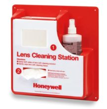 Lens Cleaning Station - Reusable Honeywell 1011377 Wall Mountable c/w 500ml spray bottle & 2 bxs x 500 tissues