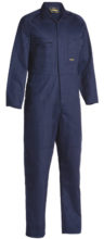 Overall - Bisley Cotton Drill 310gsm Coverall Navy - 132S