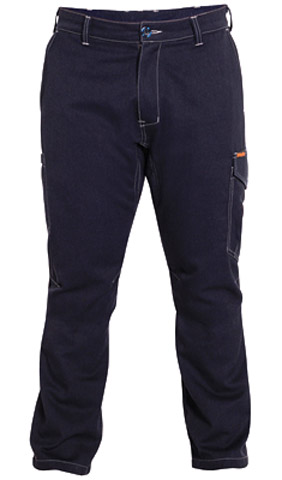 Trouser - Bisley Cargo Flame Resistant Tecasafe Plus 700 237gsm Navy - 132S